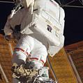 Astronaut Installs Stabilizers by Stocktrek Images
