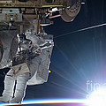 Astronaut Terry Virts Eva by Science Source