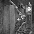 Astronomer Observing Transit Of Venus by Wellcome Images