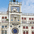 Astronomical Clock At San Marco Square by Jaroslav Frank