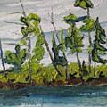 At Burbue Lake No 2 by Francois Fournier