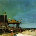 At Far Rockaway 1902 by Henri Robert