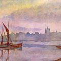 At Harbor Venice by Lloyd Bast