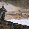 At High Sea by Winslow Homer