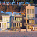 At Home On Santa Monica Beach by Mark Andrew Thomas