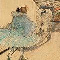 At The Circus Entering The Ring 1899 by Henri De Toulouse Lautrec