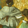 At The Couturier, The Fitting by Edgar Degas