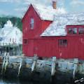 At The Docks by Eddie Durrett