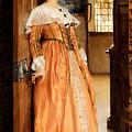 At The Doorway by Laura Theresa Alma-Tadema
