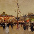 At The Fair  by Luigi Loir