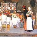 at the florist 1889 Childe Frederick Hassam by Eloisa Mannion