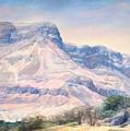 At The Foot Of Mountains by Maya Bukhina