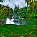 At The Lake In Central Park by Randy Aveille