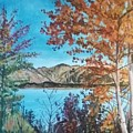 Fall Aspens by Robert Levene