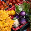 At The Market by Lynda Lehmann