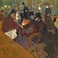 At The Moulin Rouge 1892 95 by Henri De Toulouse Lautrec