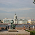 At The Newa - St. Petersburg Russia by Christiane Schulze Art And Photography