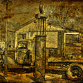 At The Pumps No.7009a1 by Janice Adomeit