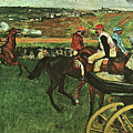 At The Races, Digitally Enhanced, Edgar Degas, Digitally Enhanced Maximum Resolution by Thomas Pollart