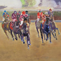 At The Races by Gail Eisenfeld