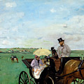 At The Races In The Countryside,  by Edgar Degas