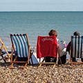 At The Seaside by Julian Regan