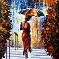 At The Steps by Leonid Afremov