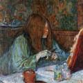 At The Toilet, Madame Poupoule by Henri de Toulouse-Lautrec
