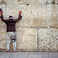 At The Wailing Wall by Paul Vitko