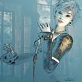 At The Window by Jutta Maria Pusl