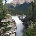 Athabasca Falls by David Kleinsasser