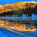 Athabasca River Glow by Adam Jewell