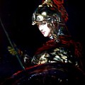 Athena After Rembrandt by Hidemi