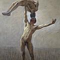 Athletes by Eugene Jansson