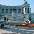 Italian National Monument In Rome To King Victor Emmanuel II In Piazza Venezia, Rome by Greta Corens