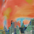 Atlanta Abstract After The Tornado by Ann Tracy