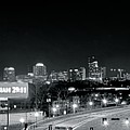 Atlanta Black And White Panorama by Frozen in Time Fine Art Photography