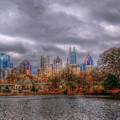 Atlanta City Skyline Georgia Usa Hdr by Alex Grichenko