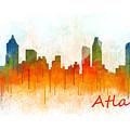 Atlanta City Skyline Hq V3 by HQ Photo