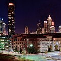 Atlanta From Above by Frozen in Time Fine Art Photography