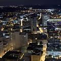 Atlanta Georgia At Night by Anthony Totah