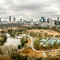 Atlanta Georgia City Skyline by Alex Grichenko