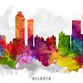 Atlanta Georgia Cityscape 13 by Aged Pixel
