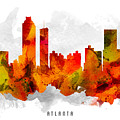 Atlanta Georgia Cityscape 15 by Aged Pixel