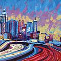 Atlanta Georgia Skyline 17 by Paul Kyegombe