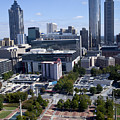Atlanta Georgia Skyline by Anthony Totah