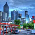 Atlanta Landmark The Varsity Art by Reid Callaway