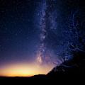 Atlanta Lights Under The Milky Way by David Morefield