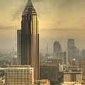 Atlanta Skyline At Dusk by Robert Ponzoni