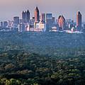 Atlanta Skyline by Doug Sturgess